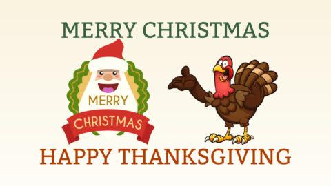 Turkeys and Santa